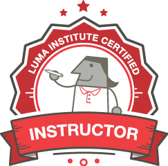 Digital Badge for the designation of a LUMA Certified Instructor