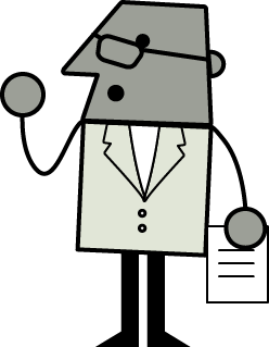 LUMAtic character representing user experience professionals